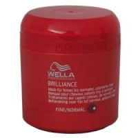 Wella Brilliance Mask für feines/normales Haar